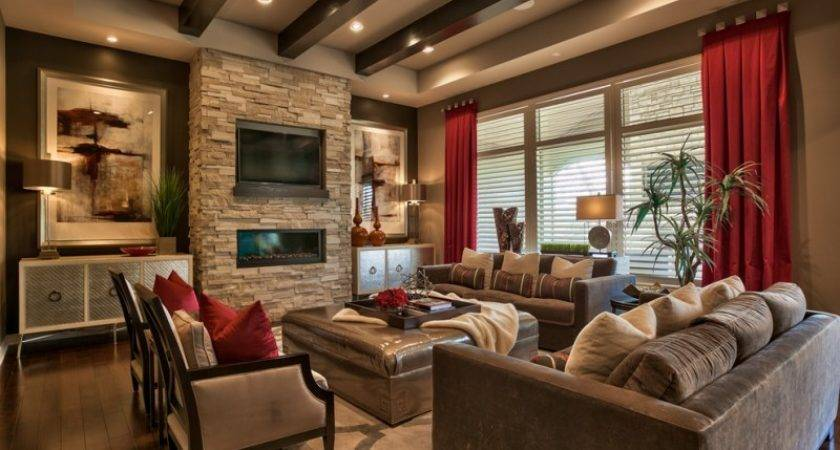 Impressive Brown Living Room Options Your Home Decohoms