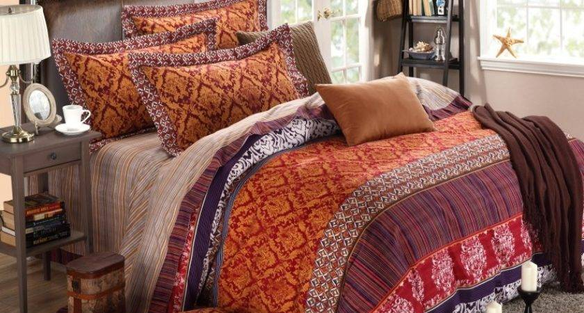 Indian Inspired Duvet Covers Compinst