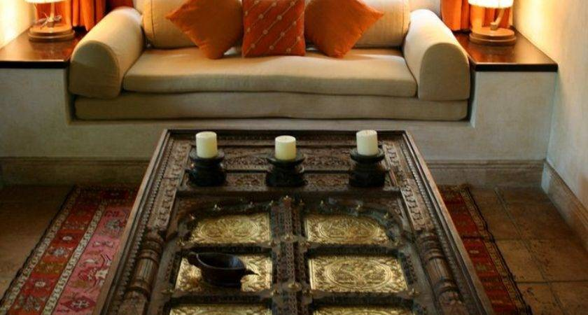 Indian Inspired Living Room Design Home