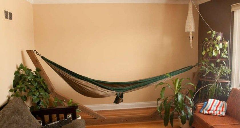 Indoor Hammocks Take Relaxing Snooze Any Time