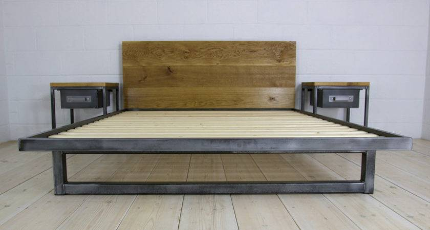 Industrial Style Furniture Bed Dma Homes
