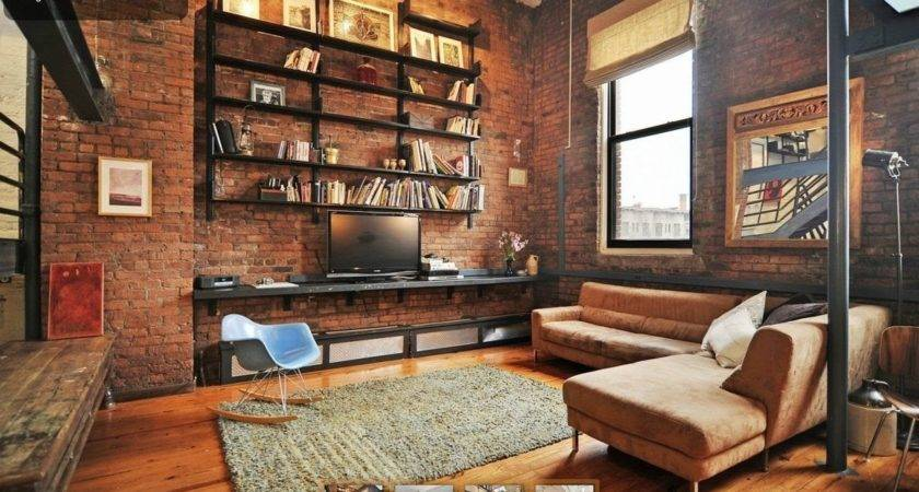Industrial Style Living Room Interior Design Ideas Youtube