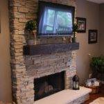 Inset Above Fireplace Ideas Best