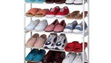 Interior Cool Covered Shoe Rack Ideas Make Your