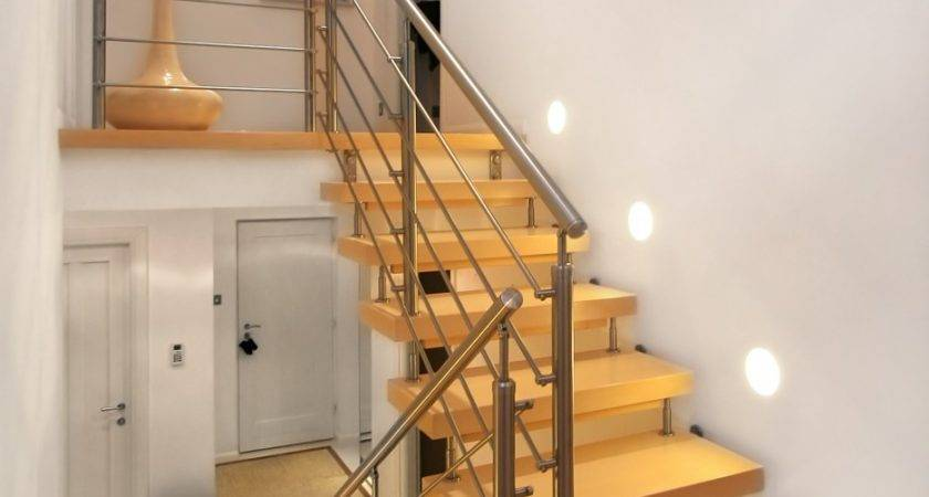 Interior Design Stunning Straight Staircase Landing
