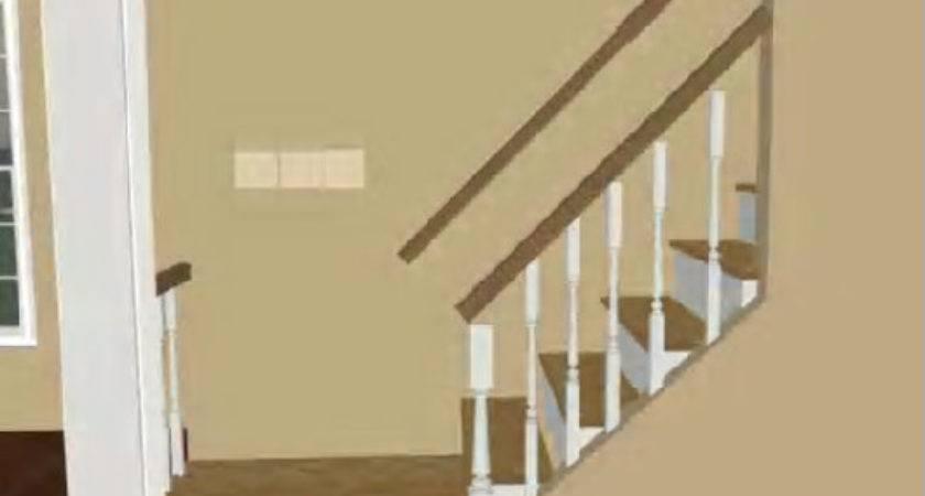 Interior Stair Landing Design