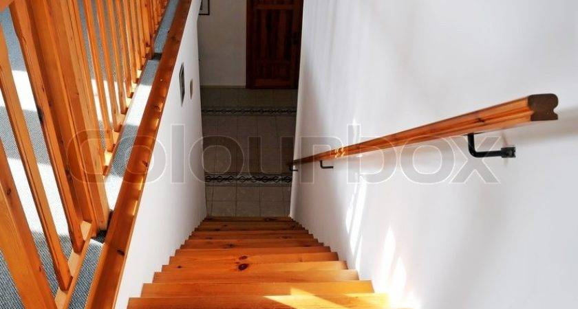 Interior Wood Stairs Handrail Colourbox
