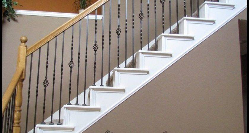 Iron Balusters Spindles Metal Stair Parts Hollow