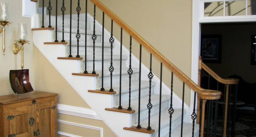 Iron Balusters Stair Spindles Staircase Wood