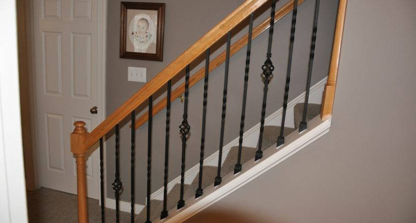 Iron Stair Balusters Railing Trendy