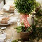 Jenny Steffens Hobick Holiday Table Setting Centerpiece