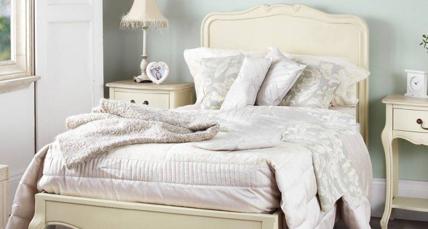 Juliette Shabby Chic Champagne Single Bed
