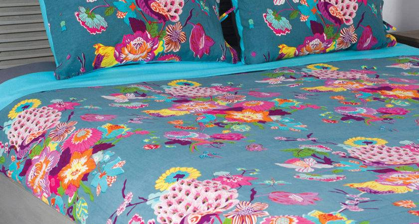 Karma Living Turquoise Peacock Duvet Cover Set Zulily