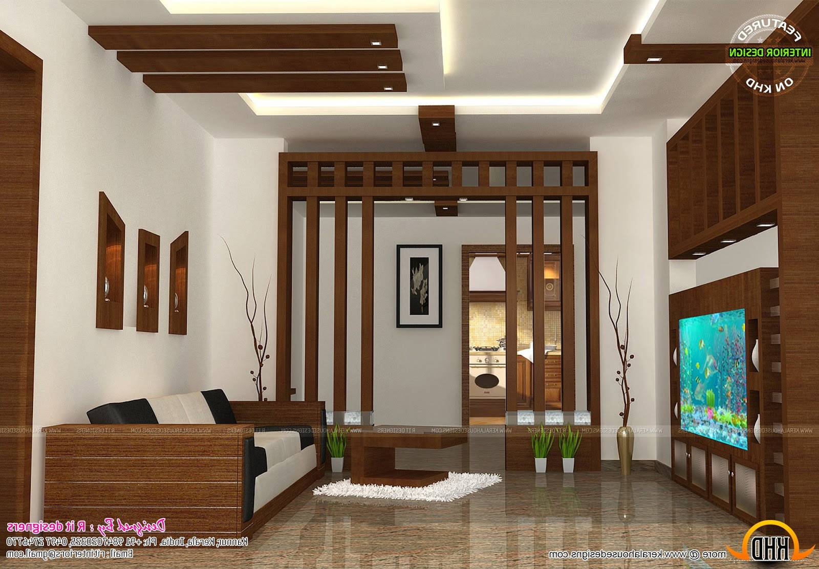 Kerala Home Interior Design Living Room Combo - Designs Chaos