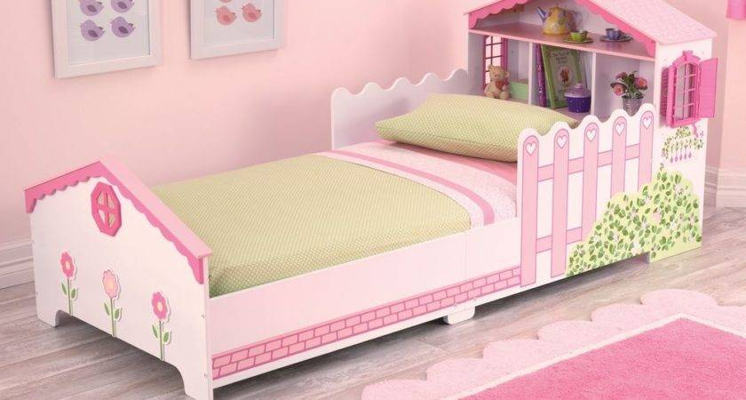 Kidkraft Dollhouse Toddler Bed Girls Doll House Cotbed