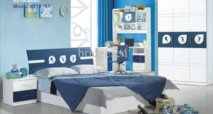 Kids Furniture Neutral Bright Color Combination