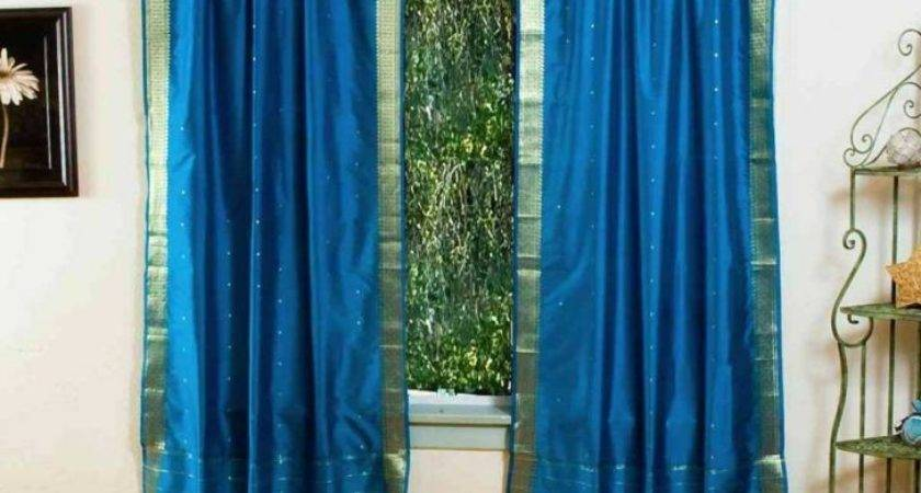 Kids Girl Bedroom Decoration Turquoise Decor Curtains