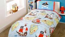 Kids Pirate Duvet Cover Boys Quilt Black Brown