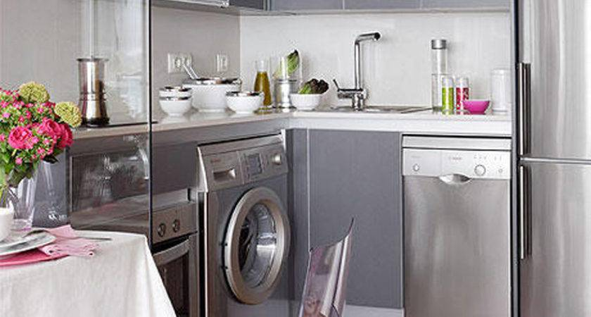 Kitchen Clever Planning Small Apartment Kitchens