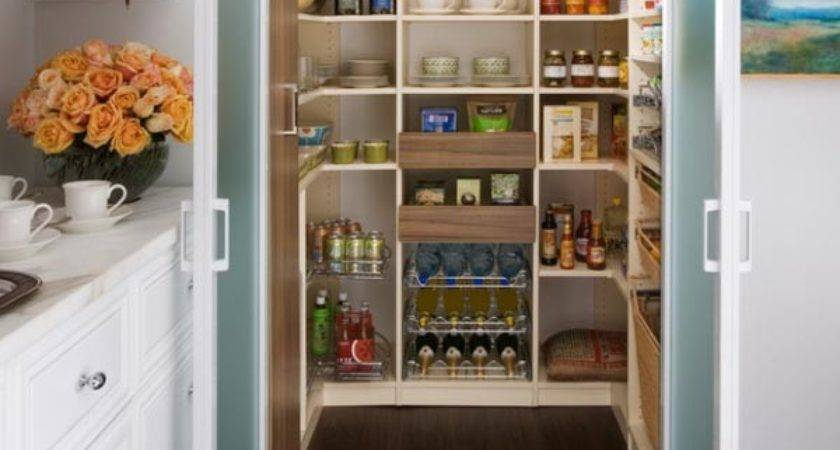 Kitchen Pantry Designs Ideas