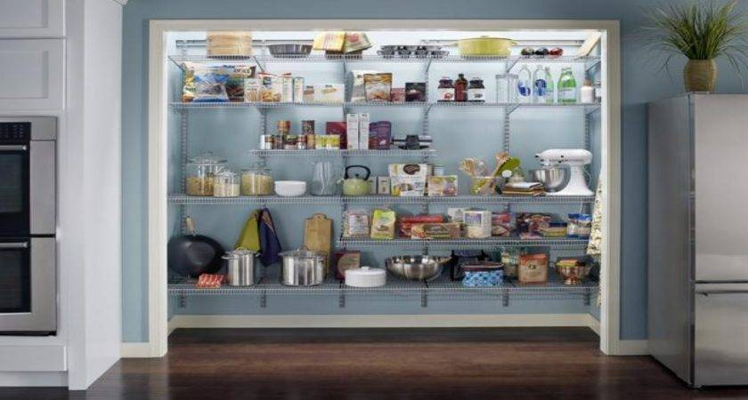Kitchen Pantry Ideas Small Spaces