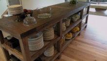 Kitchen Reclaimed Wood Island Islands