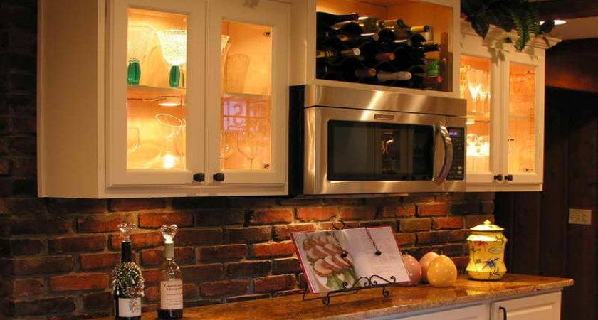 Kitchen Small Galley Makeover Brick Design