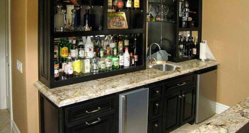 Kitchen Wet Bar Cabinets Perfect Spot Your