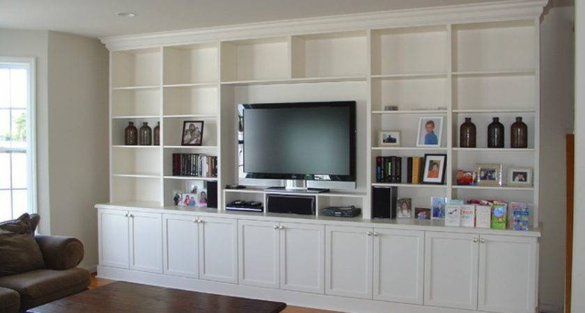 Lacquer Painted Wall Unit