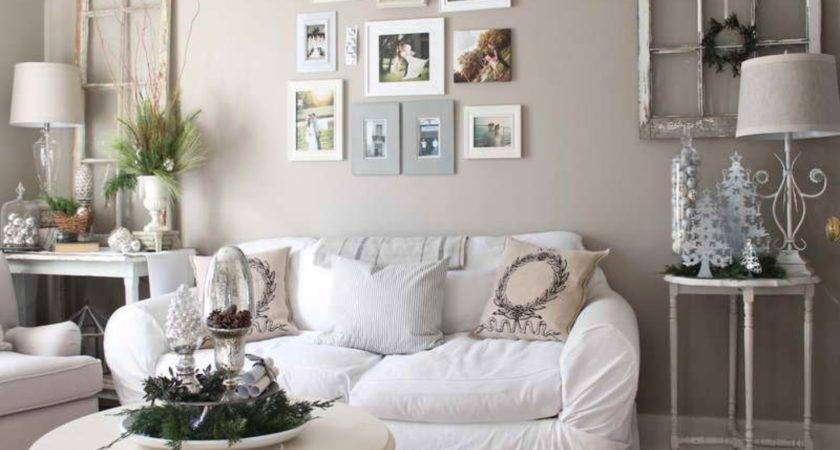 Large Wall Decor Ideas Living Room White Fabric