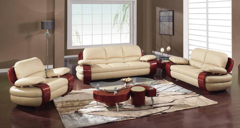 Latest Leather Sofa Designs Set