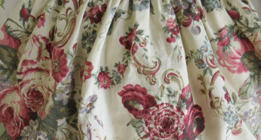 Laura Ashley Twin Single Bedskirt Dust Ruffle Victoria
