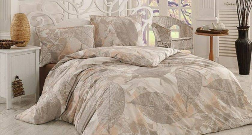 Leafs Duvet Cover Bedding Set Cotton Bed Linen Ebay