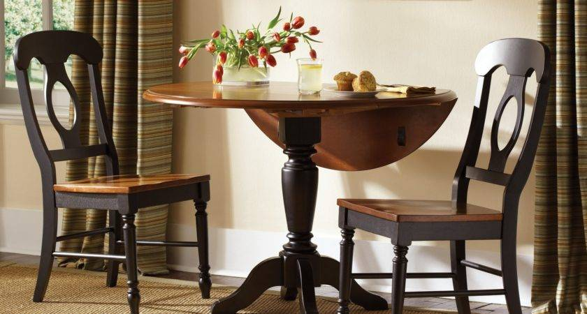 Liberty Furniture Low Country Black Drop Leaf Table