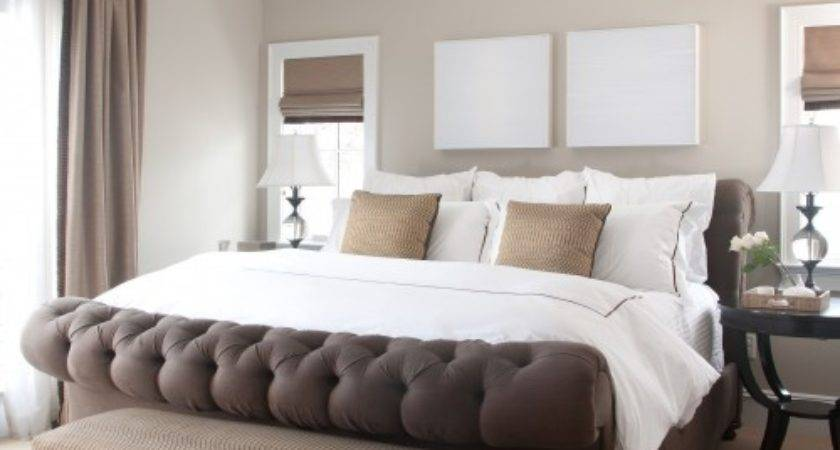 Light Brown White Bedroom Pinpoint