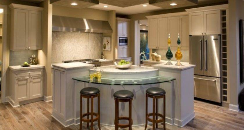 Lighting Corner Kitchen Island Ideas
