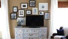 Lisa Mende Design Decorate Around Flat Screen