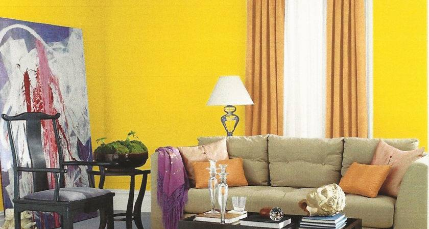Lite Yellow Orange Bedroom Paint Home Combo