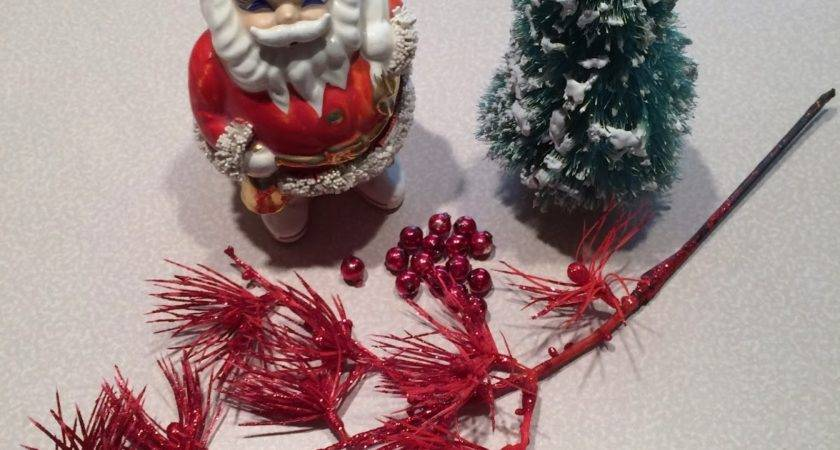 Livin Vintage Christmas Craft Week Bottle Brush