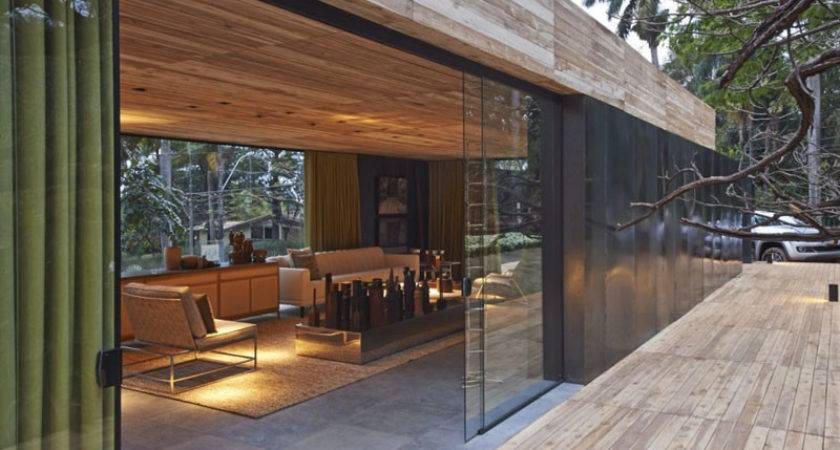 Living Dining Within Cozy Modern Annex Casa Cor