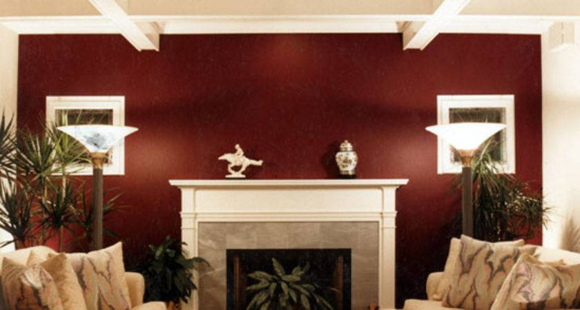 Living Room Accent Wall Modern House