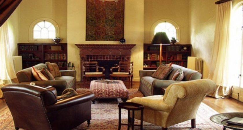 Living Room Appealing Leather Furniture Ideas