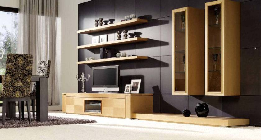Living Room Attractive Stand Designs