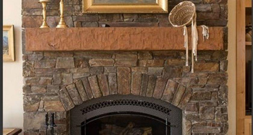 Living Room Best Stone Fireplaces Home Interior