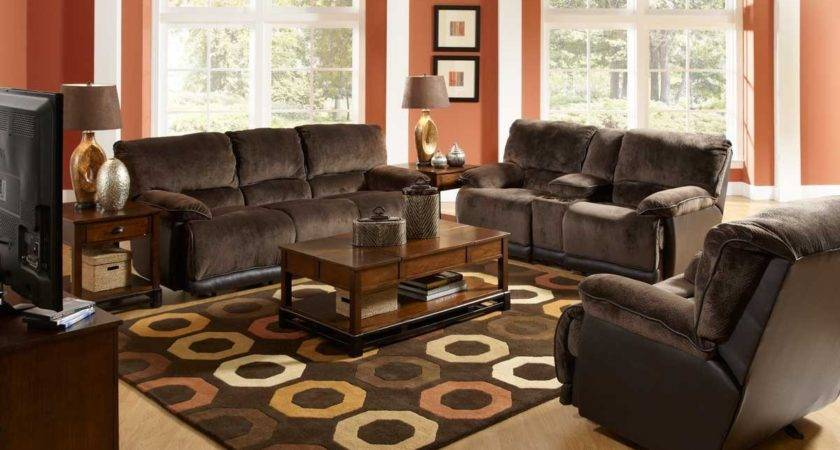 Living Room Brown Couch Minimalist Sofas Rooms
