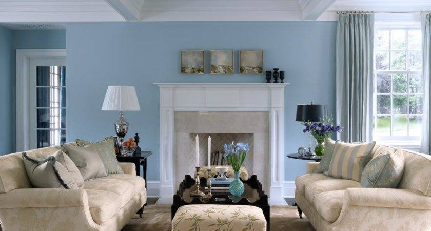 Living Room Captivating Color Decorating