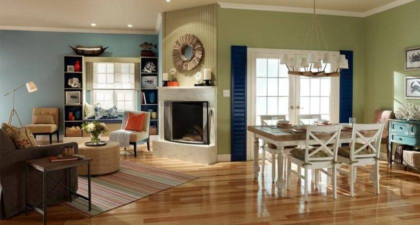 Living Room Color Schemes Latest White