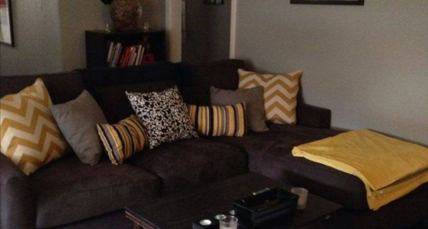 Living Room Colors Brown Couch Paint