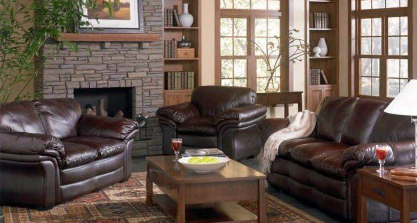Living Room Decorating Ideas Leather Furniture