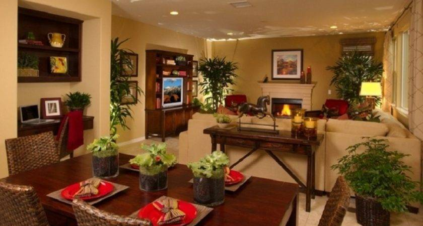 Living Room Dining Decorating Ideas Best Large